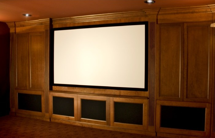 ... Home Theater Rooms Can Be Designed With Carolina Cabinet Specialist To  House All The Latest Television